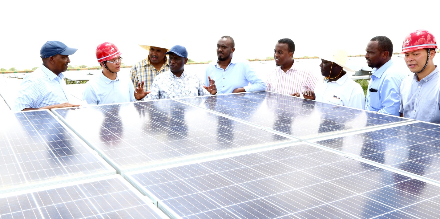 The 50 MW Garissa Solar Power Plant